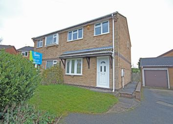 Thumbnail 3 bed semi-detached house to rent in Millfield Croft, Midway, Swadlincote