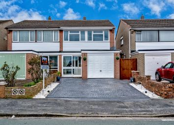 Thumbnail 4 bed semi-detached house for sale in Glenthorne Drive, Cheslyn Hay, Walsall