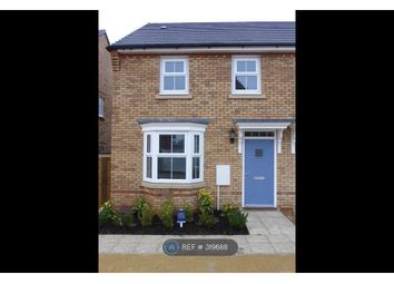 Thumbnail 3 bedroom semi-detached house to rent in Marcellus Way, Milton Keynes