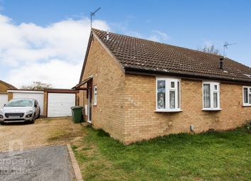 Thumbnail 2 bed semi-detached bungalow for sale in The Paddocks, Old Catton, Norwich