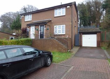 Thumbnail 3 bed semi-detached house for sale in Romney Road, Walderslade, Chatham