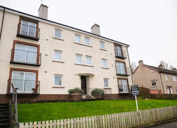 Thumbnail 1 bed flat for sale in Garry Drive, Paisley