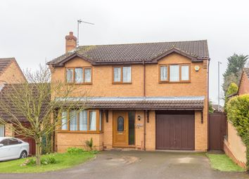 Thumbnail 4 bed detached house for sale in Fell Walk, Wellingborough