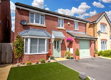 Thumbnail 4 bed detached house for sale in Carnegie Close, Rogerstone, Newport