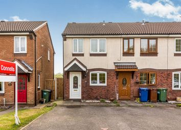Thumbnail 2 bedroom end terrace house for sale in Rembrandt Close, Cannock