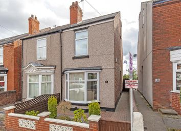 3 bed semi-detached house for sale in Old Hall Road, Brampton, Chesterfield S40