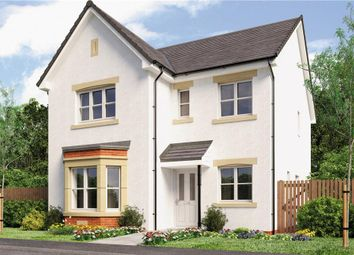 "Thumbnail 4 bed detached house for sale in ""Mitford"" at Broomhouse Crescent, Uddingston, Glasgow"