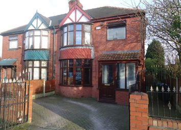 Thumbnail 3 bed semi-detached house for sale in Caledon Avenue, Moston, Manchester