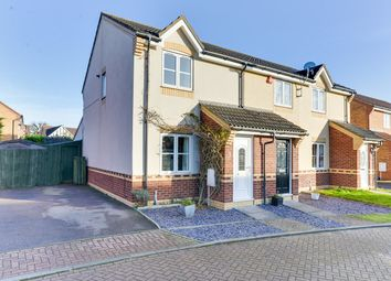 Thumbnail 2 bed end terrace house for sale in Kefford Close, Bassingbourn, Royston