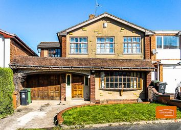 Thumbnail 4 bed detached house for sale in Helston Road, Park Hall, Walsall