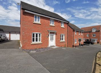 Thumbnail 4 bed detached house for sale in Stillington Crescent, Hamilton, Leicester