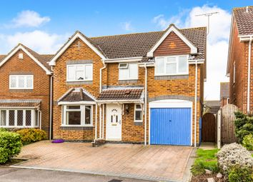 Thumbnail 4 bed detached house for sale in Coltsfoot Close, Hedge End, Southampton