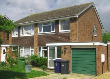 Thumbnail 3 bed semi-detached house for sale in Papyrus Way, Sawtry, Huntingdon, Cambridgeshire