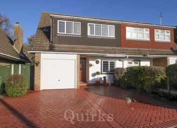 Thumbnail 3 bed semi-detached house for sale in Trevor Close, Billericay