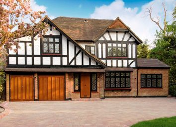 Thumbnail 6 bed detached house for sale in Canons Drive, Edgware