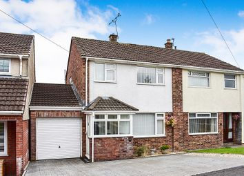 Thumbnail 3 bed semi-detached house for sale in Nant Ffornwg, Llangewydd Court, Bridgend.