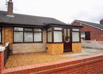 Thumbnail 2 bed bungalow for sale in Woolacombe Avenue, St. Helens