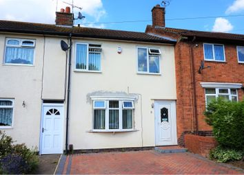 Thumbnail 3 bed terraced house for sale in Renfrew Road, Leicester