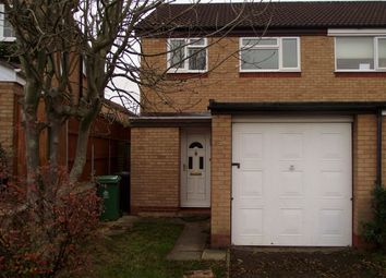 Thumbnail 3 bed semi-detached house to rent in Basil Close, Gloucester, Gloucestershire