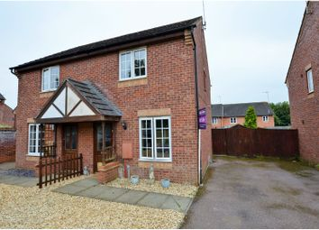 Thumbnail 2 bed semi-detached house for sale in Tyrrell Way, Towcester