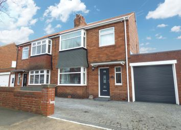 Thumbnail 3 bedroom semi-detached house for sale in West Riggs, Bedlington