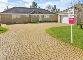 Thumbnail 4 bed detached bungalow for sale in March Road, Turves, Peterborough