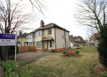 Thumbnail 3 bed semi-detached house to rent in Gledhow Valley Road, Roundhay, Leeds