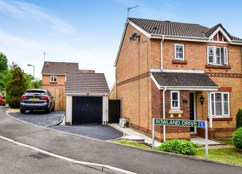 Thumbnail 3 bed detached house for sale in Heol Ysgubor, Caerphilly