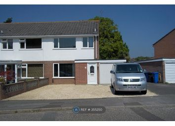 Thumbnail 3 bed semi-detached house to rent in Border Road, Poole, Dorset