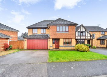 Thumbnail 4 bed detached house for sale in Harris Close, Wootton, Northampton