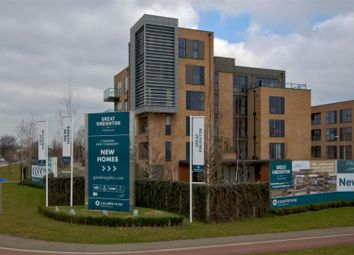 Thumbnail 1 bed flat for sale in Beech Drive, Trumpington, Cambridge