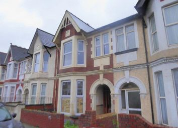 Thumbnail 4 bed terraced house for sale in Harrow Road, Newport, Newport