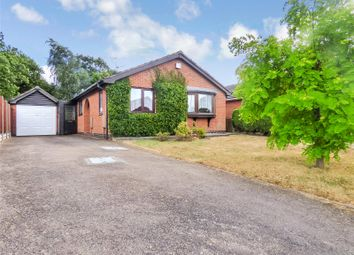 Thumbnail 2 bed detached bungalow for sale in The Meadow, Broughton Astley, Leicester, Leicestershire