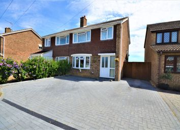 Thumbnail 3 bed semi-detached house for sale in Elm Tree Drive, Bassingbourn, Royston
