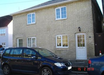 Thumbnail 3 bed cottage to rent in St. Peters Street, Duxford, Cambridge, Cambridgeshire