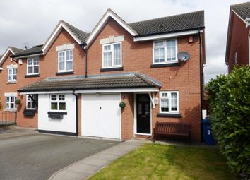 Thumbnail 3 bed semi-detached house to rent in Pettiford Close, Lichfield