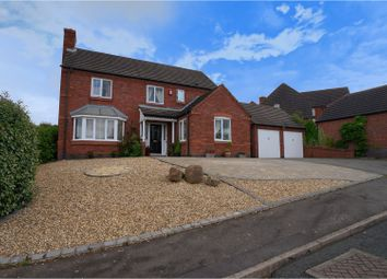 Thumbnail 4 bed detached house for sale in Darwin Close, Brizlincote Valley
