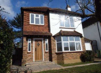 Thumbnail 3 bed detached house to rent in Oak Hill, Epsom