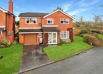 Thumbnail 4 bed detached house for sale in Oakfield Avenue, Wrenbury, Cheshire