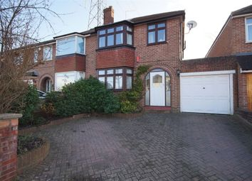 Thumbnail 3 bed semi-detached house for sale in Delamere Road, Earley, Reading, Berkshire