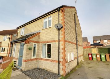 Thumbnail 2 bed semi-detached house for sale in Nutwood View, Scunthorpe