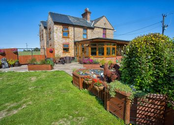 Thumbnail 4 bed detached house for sale in Lincs, Long Sutton, Near Spalding Equestrian / Lifestyle