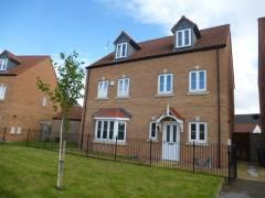 Thumbnail 3 bed town house to rent in Roebuck Chase, Wath-Upon-Dearne, Rotherham