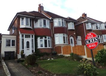 Thumbnail 3 bed semi-detached house for sale in College Road, New Oscott, Sutton Coldfield