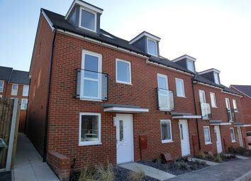 Thumbnail 4 bed town house to rent in Oakes Crescent, Dartford