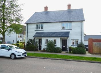 Thumbnail 2 bed semi-detached house to rent in Discovery Drive, Kings Hill, West Malling