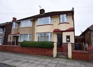 Thumbnail 4 bed semi-detached house for sale in Palmerston Road, Wallasey, Merseyside