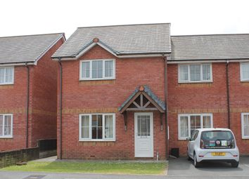 Thumbnail 4 bed semi-detached house to rent in Maes Mawr, Aberystwyth