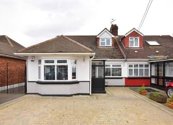 Thumbnail 4 bed semi-detached bungalow for sale in Thorndon Avenue, West Horndon, Brentwood, Essex