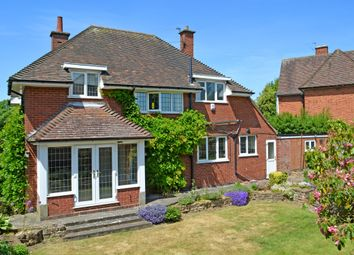 Thumbnail 4 bed detached house for sale in Stoughton Road, Oadby, Leicester